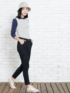 04f9618d1272 Elise Black Jeans - Pomelo Fashion
