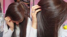 Brown Hair Color On Black Hair - Best Hair Color for Ethnic Hair Check more at http://frenzyhairstudio.com/brown-hair-color-on-black-hair/