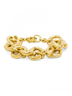 This is my FAV accessory! Gold Mary Links Bracelet