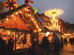 Heidelberger Weihnachtsmarkt.  One of my best childhood memories was going to the German Christmas markets and looking at all the exotic things being sold.