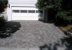 Pavers Stones Driveway with Belgard Pavers Brand #paverstones #pavers #bricks #driveway