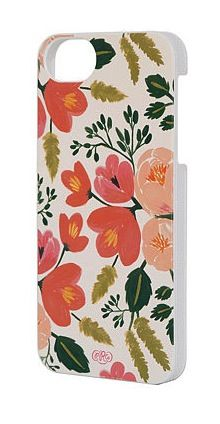 Botanical Rose iPhone 5 Case by Rifle Paper Co.