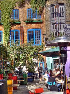 Neal's Yard - Covent Garden, London