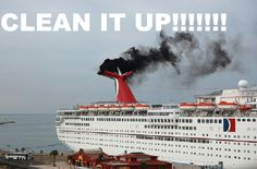 DEMAND cruise lines CLEAN UP THEIR ACT and STOP POLLUTING THE AIR and WATER THROUGHOUT THE WORLD!  We need to hold cruise ships accountable and insist they adopt a sewage treatment system to protect the health of humans and marine life and reduce their carbon footprint.  Please Sign and Share Widely!