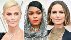 The Most Daring, Glitzy, and Memorable Beauty Moments From the Oscars 2020 Red Carpet Modern Updo, Matte Red Lips, Zazie Beetz, Subtle Ombre, Bold Brows, Platinum Hair, Nude Lip, Celebrity Beauty, Old Hollywood Glamour