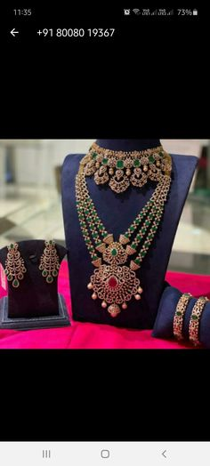 Jewelry Design Earrings, Gold Jewellery Design, Necklace Designs, Diamond Earrings Indian, Diamond Jewellery, South Indian Bride Jewellery, Silk Bangles, Salwar Designs, Gold Designs