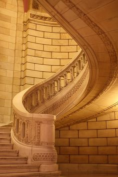 Marble staircase, Cleveland Courthouse.