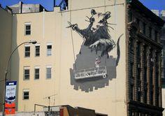 Banksy artist   Chinatown, New York City