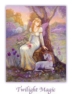 Twilight Magic – another painting that will be included in Mystical Fairies. You have just over two week to preorder it from iBooks at the discounted price of $2.99.