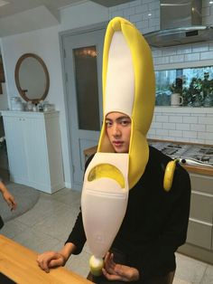 Jin is the cutest banana i have ever seen