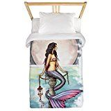 mermaidhomedecor - Enchanted Sea Twin Duvet Cover $99.95 Mermaid Bedding, Mermaid Board, Mermaid Home Decor, Mermaid Images, Rare Species, Enchanted, Decorating Your Home, Duvet Covers, Unicorn