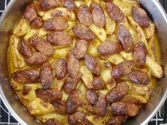 Cookbook Recipes, Cooking Recipes, Sausage, Meat, Food, Chef Recipes, Sausages, Essen, Eten