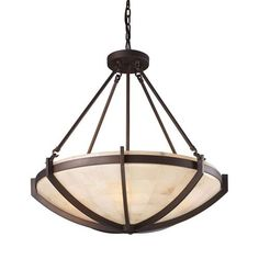 shaded chandelier stone - Google Search
