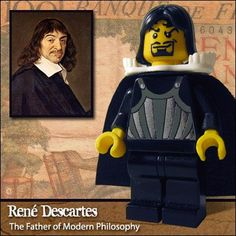 LEGO Rene Descartes