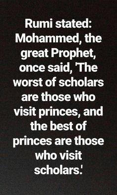 Rumi states...