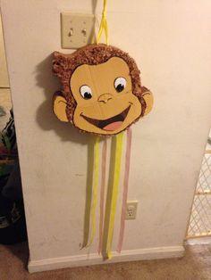 Curious George pull apart piñata