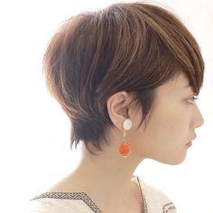 大人のレディース向け!小顔効果バツグンのショートヘアスタイル10選