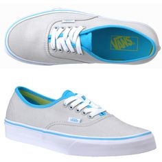 vans for girls   Vans Womens Authentic Pearl Gray/Blue Atoll/Limeade ...