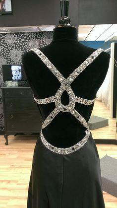 Black, Backless Prom Dress | Shop Bridal Cottage