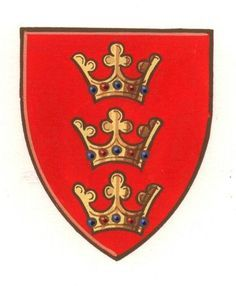 British version of the Coat-of-Arms of King Arthur.