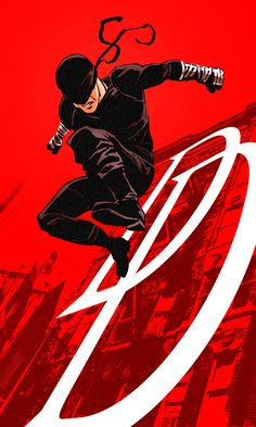 Red Batman! I mean Daredevil Gotta love Netflix's Daredevil series! Can't wait for season 2. This design isn't 100% accurate to what it looks like in the show, but it's heavily influenced by it. Da...