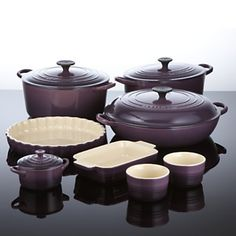 Le Creuset cookware in Cassis! Once I get serious about cooking! That may never happen lol!