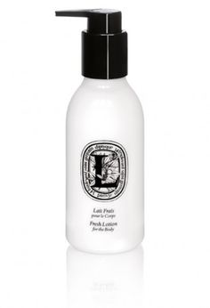 "Fresh Lotion for The Body by Diptyque. ""A bright scent of Orange Blossoms, like a morning breeze on the bay of Alexandria awakened by the legendary Mediterranean flower. A fluid yet generous texture to moisturize and refresh the skin."""