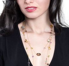Gemstone Jewelry to Celebrate the Colors of Summer   Fashionable Housewives of USA