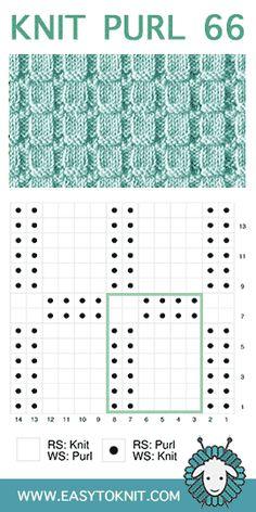 Easy To Knit - Waffle Rib stitch - Knitting for beginners,Knitting patterns,Knitting projects,Knitting cowl,Knitting blanket Rib Stitch Knitting, Knitting Stiches, Purl Stitch, Knitting Charts, Baby Knitting Patterns, Loom Knitting, Knitting Socks, Stitch Patterns, Crochet Patterns