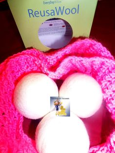 We use ReusaWool Dryer balls -- savingsinseconds.com  Enter to win yours! Giveaway ends 2/14