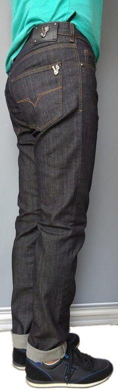 Versace slim fit men's denim salina jeans size W34/L35 | eBay
