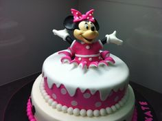Minnie Mouse Cake Idea