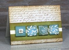 Beautiful card, love the colours and how the inchies pop.