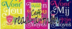Yes, de readathon rondom de boeken van Jojo Moyes over Louisa Clark is van start gegaan! Vanaf 1 februari (her)lezen we samen hier op WLFGVoor jou, Een leven na jou enVoor mij. In dit topic staat...