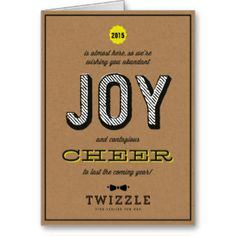 Greeting cards design from 10 top illustrators 10 top kraft contagious cheer joy corporate holiday card company christmas cardscorporate christmas cardsbusiness colourmoves