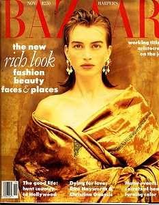Bazaar November 1989 - Amanda Pays