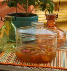 Abricots au vin doux et aux épices, la recette d'Ôdélices : retrouvez les ingrédients, la préparation, des recettes similaires et des photos qui donnent envie !