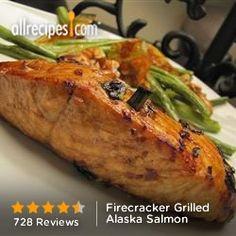 Firecracker Grilled Alaska Salmon from Allrecipes.