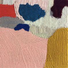 Knitted heaven! Love the colour palette.   http://natashadearden.com/