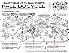 Játékos tanulás és kreativitás: Kaleidocycle minden alkalomra
