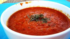 Homemade Tomato Soup - My family favorite!