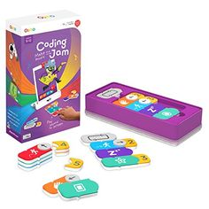 Osmo - Coding Jam - Ages - Music Creation, Coding & Problem Solving - For iPad or Fire Tablet (Osmo Base Required) in Electronics for Kids. Computer Games For Kids, Computer Lab Lessons, Learning Games For Kids, Learning Apps, Educational Games For Kids, Games For Girls, Educational Toys, Jam Games, Music Jam