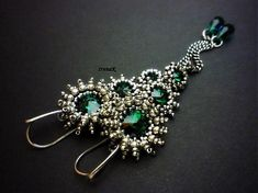 Drop of Emerald by IrenaK - SAShE.sk - Handmade Náušnice