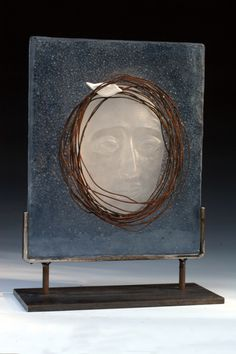 """""""Alone Together"""" Jan Kransberger Exhibiting members in Glass Cast Glass, Glass Artwork, Fused Glass Art, Sacred Art, Glass Design, Sculpture Art, Illustration Art, Creations, Abstract"""
