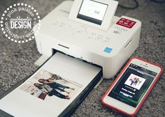 Canon app for printing to your Selphy printer from your iPhone
