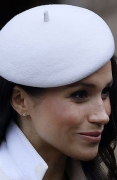 Meghan Markle attended her first official event alongside the Queen yesterday when she joined Prince Harry and senior members of the Royal family for the annual Commonwealth Day Service at Westminster Abbey.  The royal-to-be stepped out in a cream coat  and navy dress by British designer Amanda Wakeley. March 12, 2018.