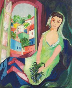 Pinturas do AUwe - Cícero Dias - Brasileiro - Pintor Brasileiro How To Speak Spanish, Outsider Art, American Art, Flower Art, Surrealism, Art For Kids, Watercolor, Windows, Paintings