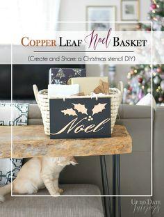 Copper Leaf Noel Bas