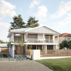 Interior Exterior, Exterior Design, Building Design, Building A House, Small Beach Houses, Dream House Exterior, Beach House Exteriors, Facade House, House Facades
