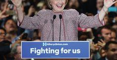 Clinton wears $12,495 visual aid to inequality speech